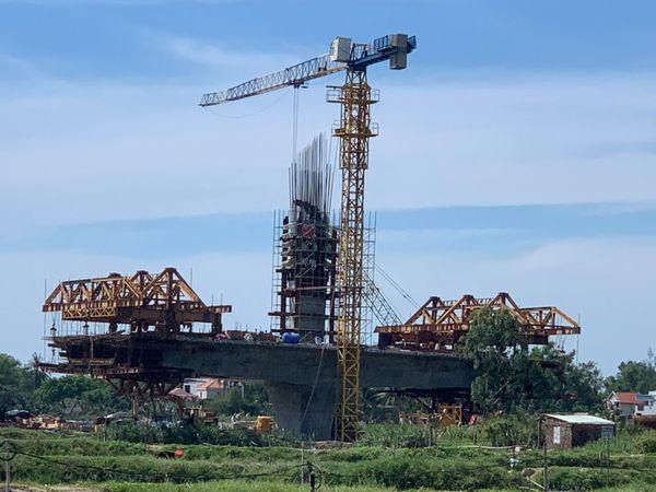 Tiến độ xây dựng cầu ông Điền 3